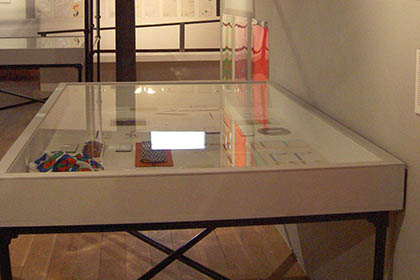 Alan Fletcher – V & A - Display Case