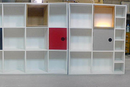 Bespoke Cabinetry / Storage System for Private Domestic Client
