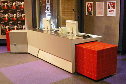 Box Office / Reception Desk – Contact Theatre, Manchester