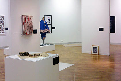 Connect Create – Ferens Art Gallery, Hull – Regional Exhibition Installation