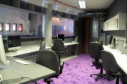 Contact Theatre Manchester – Media Lab / Bespoke Shop Fit
