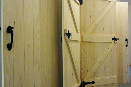 Ledged and Braced Farmhouse Doors – Domestic Commission
