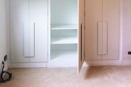 Fitted Wardrobes – Design, Build & Installation – Private Domestic Client