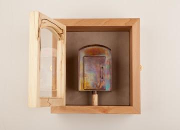 Replica SOS Box in Presentation Cabinet