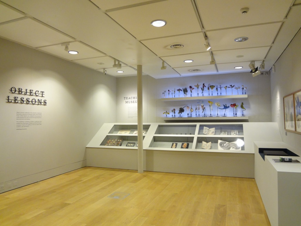 Manchester Museum Object Lessons Exhibition