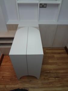 Fold Away Tables.
