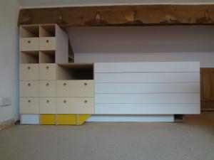 Materials storage and work station Artists Studio