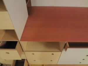 Storage Cabinetry. Artists Studio.