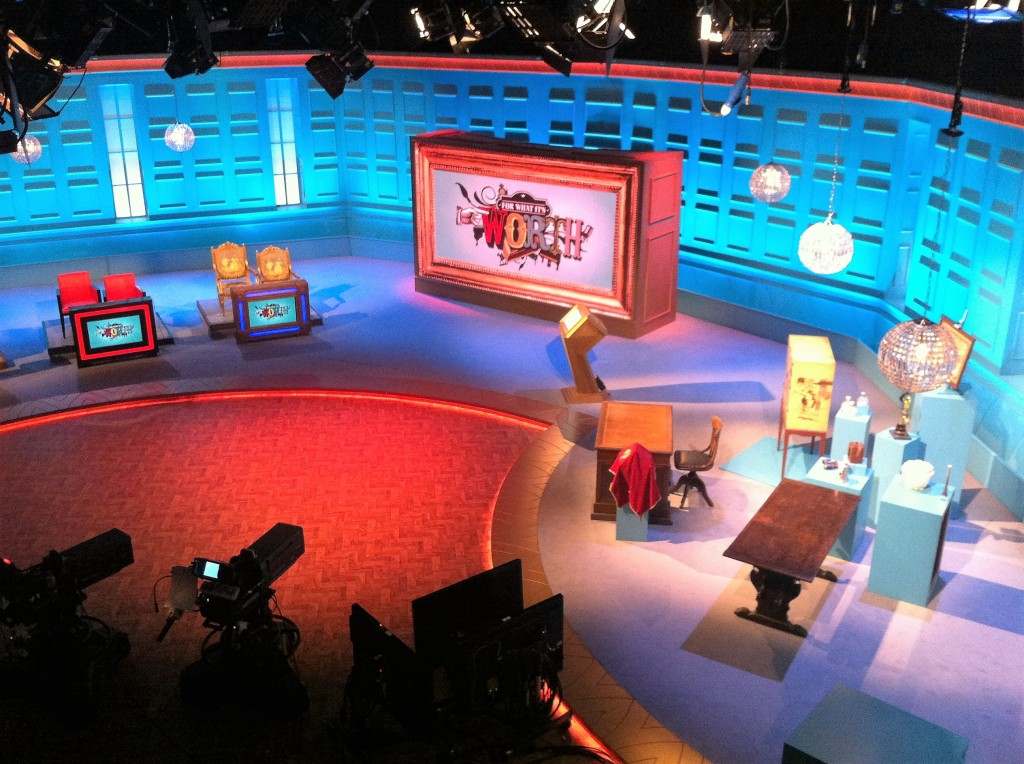 For What It's Worth (Fern Britton) BBC. Set Build - Carpentry. EC Creative Services.