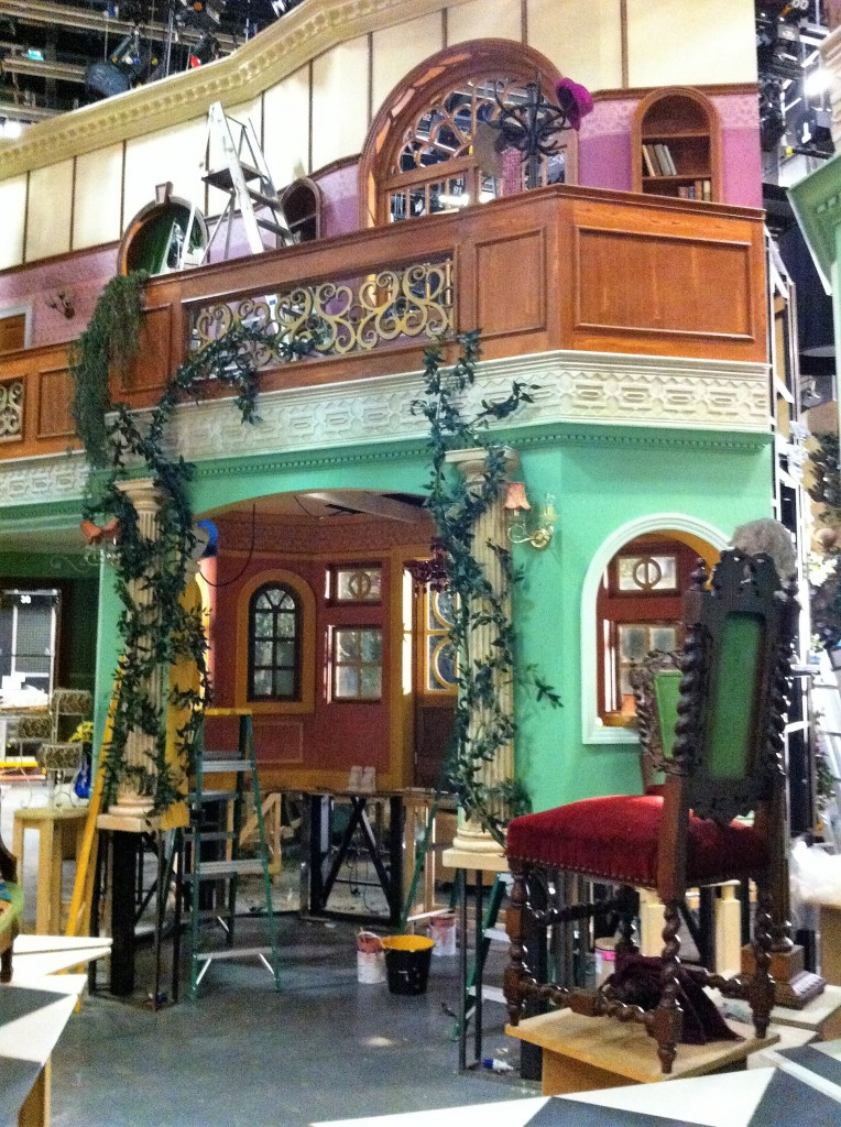 Furchester Hotel BBC. Set Build/ Installation. EC Creative Services.