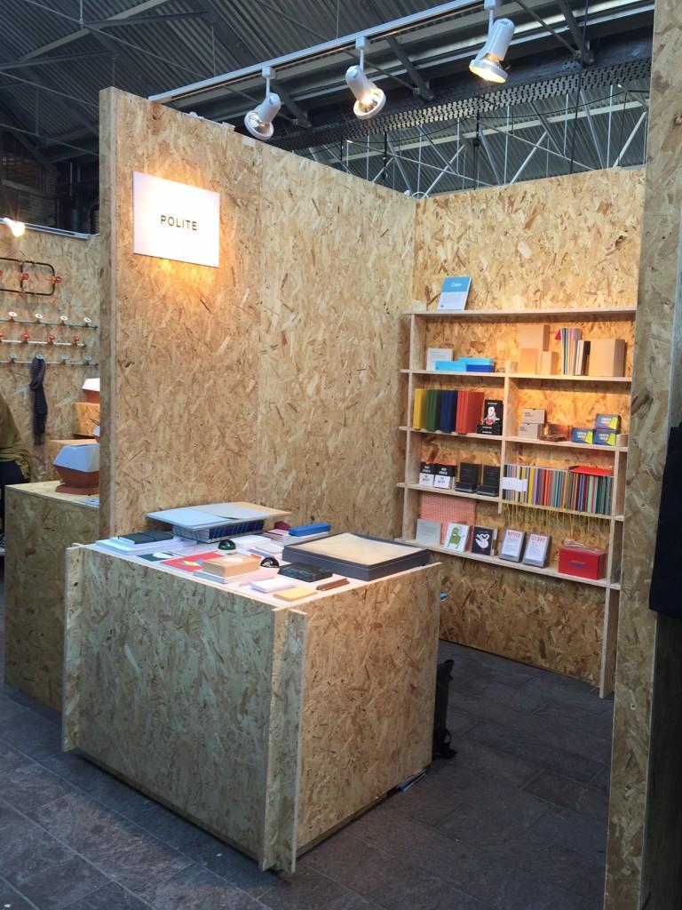 Polite Company Exhibition Build.