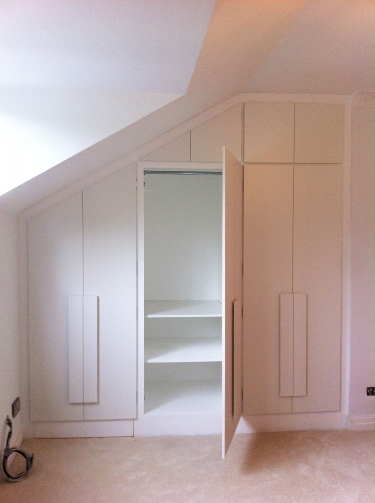 Design Build & Installation. Fitted Wardrobes. Private Domestic Client.